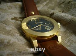 1911.45 Watch with Swiss made quartz and Sapphire Crystal in 18K gold plate