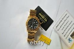24K Gold Plated Genuine Invicta Pro Diver Wrist Watch No. 23400 Men Gift Box