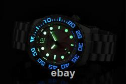 ARAGON DiveMaster IV 50mm PINK Dial NE57 Hi-End AUTOMATIC Ion Plated Watch A390