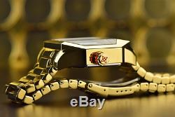 Aragon'Concept S' Men's 46mm GOLD Ion Plated AUTOMATIC Watch A271GLD