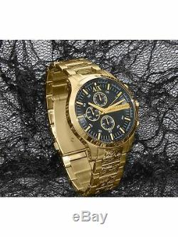 Armani Exchange Men's Smart AX2137 Gold Stainless-Steel Plated Japanese Quart