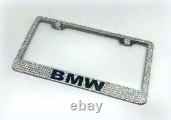 Bling BMW License Plate Frame made with Swarovski Crystals Jewelry