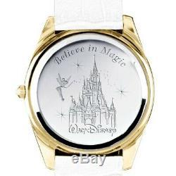 Bradford Exchange Disney Diamond Ladies Watch, Gold-plating, Swarovski crystals