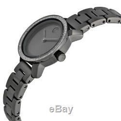 Brand New Movado 3600226 Bold Gray Ion Plated Gray Dial Women's Watch