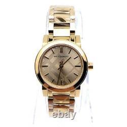 Burberry BU9234 The City Swiss Gold Ion-plated Bracelet Women's Wrist Watch