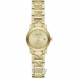 Burberry BU9234 Women's Swiss Gold Ion-Plated Stainless Steel Watch