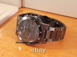 Burberry BU9381 Gunmetal Dial Grey Ion-plated Stainless Steel Mens Watch