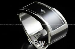 CALVIN KLEIN Womens's PENSIVE CK Swiss Made Steel Bracelet Silver Plated Watch
