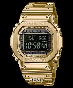 Casio GMW-B5000GD-9D G-Shock Ion Plated Gold Solar Bluetooth Multiband RRP $1049