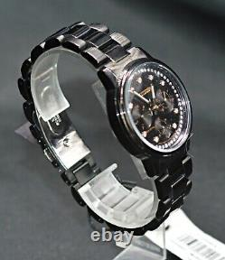Citizen Eco-drive Chandler Fd2047-58e Women's Black Ion Plated Wrist Watch