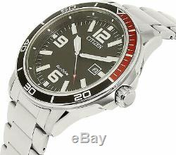 Citizen Men's Eco-Drive AW1520-51E Silver Stainless-Steel Plated Fashion Watch