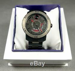 DO NO PURCHASE TEST Movado Bold Black Ion Plated Stainless Steel Date 3600384ANB