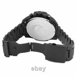 Diesel DZ4318 Mega Chief Chronograph Black Ion-Plated Fashion Men's Watch