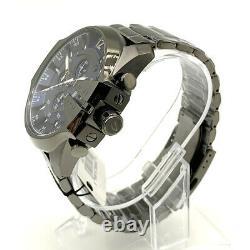 Diesel DZ4329 Gunmetal Plated Stainless Steel Bracelet Chrono Men's Watch