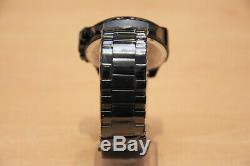 Diesel Dz4318 Black Ion-plated Mega Chief Chronograph Mens Watch