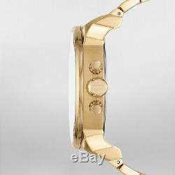 Diesel Men's Mr. Daddy DZ7399 Gold Brass Plated Stainless-Steel Quartz Watch