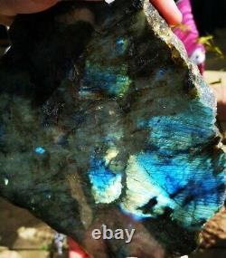 Extra Large Heavy Polished Labradorite Slab/slice/plate