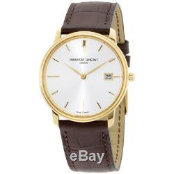 Frederique Constant Limline Light Grey Dial Gold-plated Men's Watch FC220NV4S5