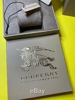 From NY! BURBERRY Unisex Swiss BU9038 Gold Ion-Plated Bracelet Quartz 38mm Watch
