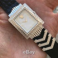 Gianni Versace SIGNATURE White Gold Plated 2622 Quartz