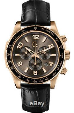 Guess Collection GC Men's Techno Sport Chronograph Gold Plated Watch