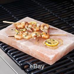 Himalayan Salt Cooking Block Plate Cookware Serving Slab 20x16x3 cm