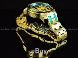 INVICTA Men's Scuba 3.0 Chronograph 18K Gold Plated SS Bracelet Watch