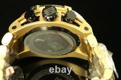 Invicta 14432 Men's Ltd Ed Jason Taylor Reserve Chrono 18k Gold Plated SS