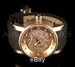 Invicta 48mm S1 Dragon YAKUZA NH35A Automatic 18K Rose Gold Plated SS Watch NEW