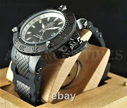 Invicta 50mm Subaqua Noma III GMT Mother of Pearl Dial BLACK Ion Plated Watch