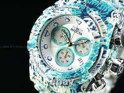Invicta 52mm Bolt Zeus Hydro Aqua Plated GRAFFITI Multicolor Swiss Chrono Watch