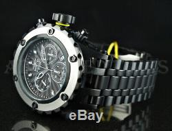 Invicta 52mm Subaqua Specialty Chronograph Day & Date Black Ion Plated SS Watch