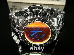 Invicta 70mm Sea Hunter Gen II TINTED CRYSTAL Swiss Movt Black Ion Plated Watch