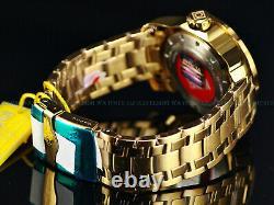 Invicta Men 48mm Pro Diver Scuba Lim Ed AVENGERS IRON MAN 18K Gold Plated Watch