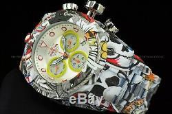 Invicta Men 53mm Bolt HydroPlated Aqua Plated GRAFFITI Swiss Multicolor Watch
