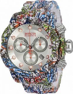 Invicta Men 54mm Reserve Venom Hydro Plated Orange Mark Swiss Multicolor Watch
