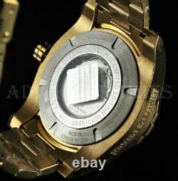 Invicta Men's 54mm Pro Diver LIMITED EDITION Automatic 18k Gold Plated SS Watch