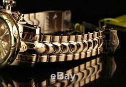Invicta Mid-Size 46mm Venom SWISS MOVT 18K Rose Gold Plated HIGH POLISH SS Watch