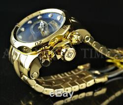 Invicta Reserve 52mm Venom Swiss Chronograph 18k Gold Plated High Polish Watch
