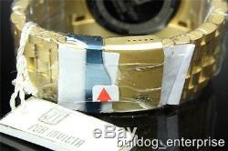 Invicta Reserve Bolt Zeus Gold Plated Swiss Made Jason Taylor JT Watch +Case New