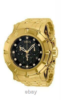 Invicta Reserve Grand S1 Rally Ltd Ed Swiss Mvmt Gold plated Black Diamond Watch