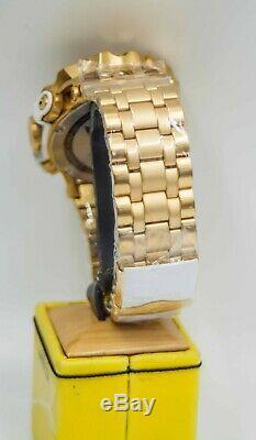 Invicta Reserve Men's 52mm Venom Hybrid Swiss Quartz Gold Plated Bracelet 27792