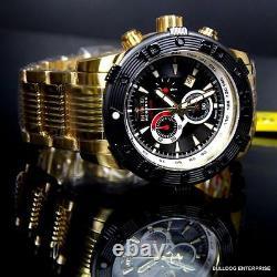 Invicta Reserve Ocean Speedway Gen II Swiss Gold Plated Steel Black Watch New