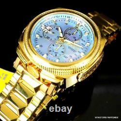 Invicta Reserve Russian Diver Diamond Gold Plated Platinum MOP 52mm Watch New