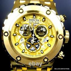 Invicta Reserve Subaqua Specialty COSC Gold Plated Skeleton Swiss Made Watch New