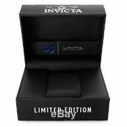 Invicta Reserve Venom DC Comics Joker Gold Plated Black 52mm Swiss Mvt Watch NWT
