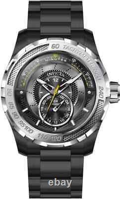 Invicta S1 Rally Quartz Black Dial Black Ion-plated Men's Watch 30574