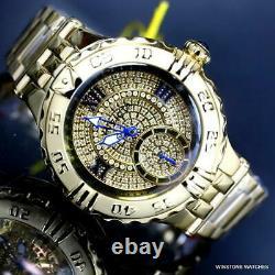 Invicta Subaqua Noma I Next Gen. 73 CTW Diamond Gold Plated 38mm Watch New