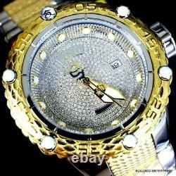 Invicta Subaqua Noma VI 1.81 CTW Diamond 2 Tone Gold Plated Automatic Watch New