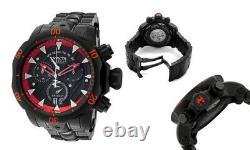 Invicta Venom Chronograph Stealth Black Dial Black Ion-plated Men's Watch 1599